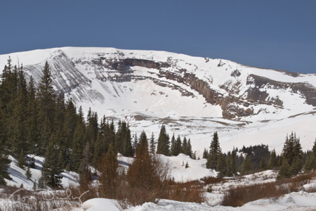 horseshoe mountain cirque