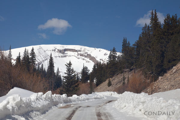road to spring and horshoe mountain by Con Daily
